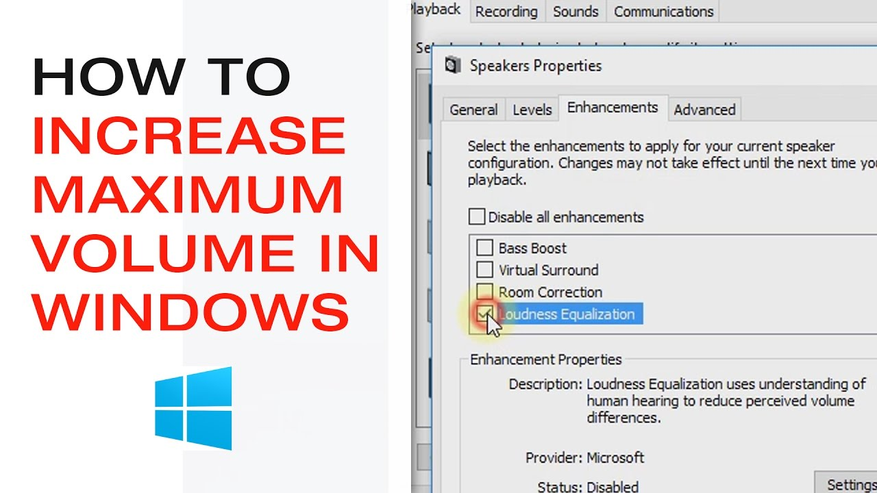 windows 10 sound too low
