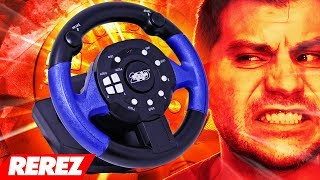 The Worst Driving Plug & Play Ever! / 200 Toy Steering Wheel - Rerez