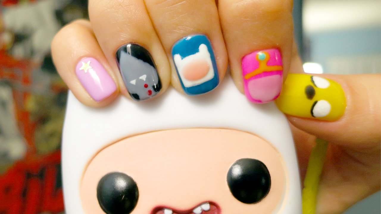 Adventure Time Nails Youtube