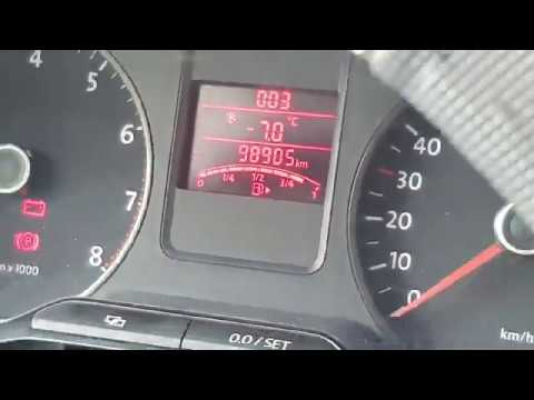Корректировка пробега VW Polo с предподготовкой X-Tool