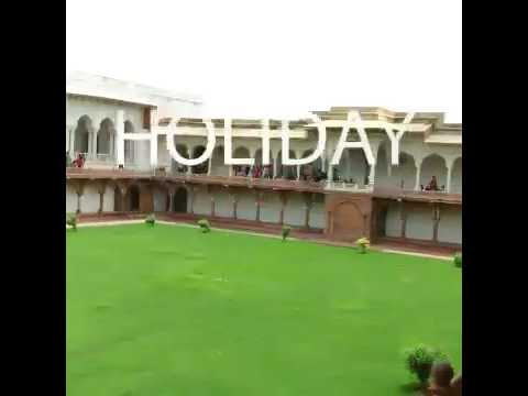 Summer vacations in Agra