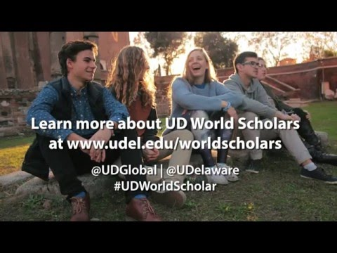 What has been your favorite part of the World Scholars program?