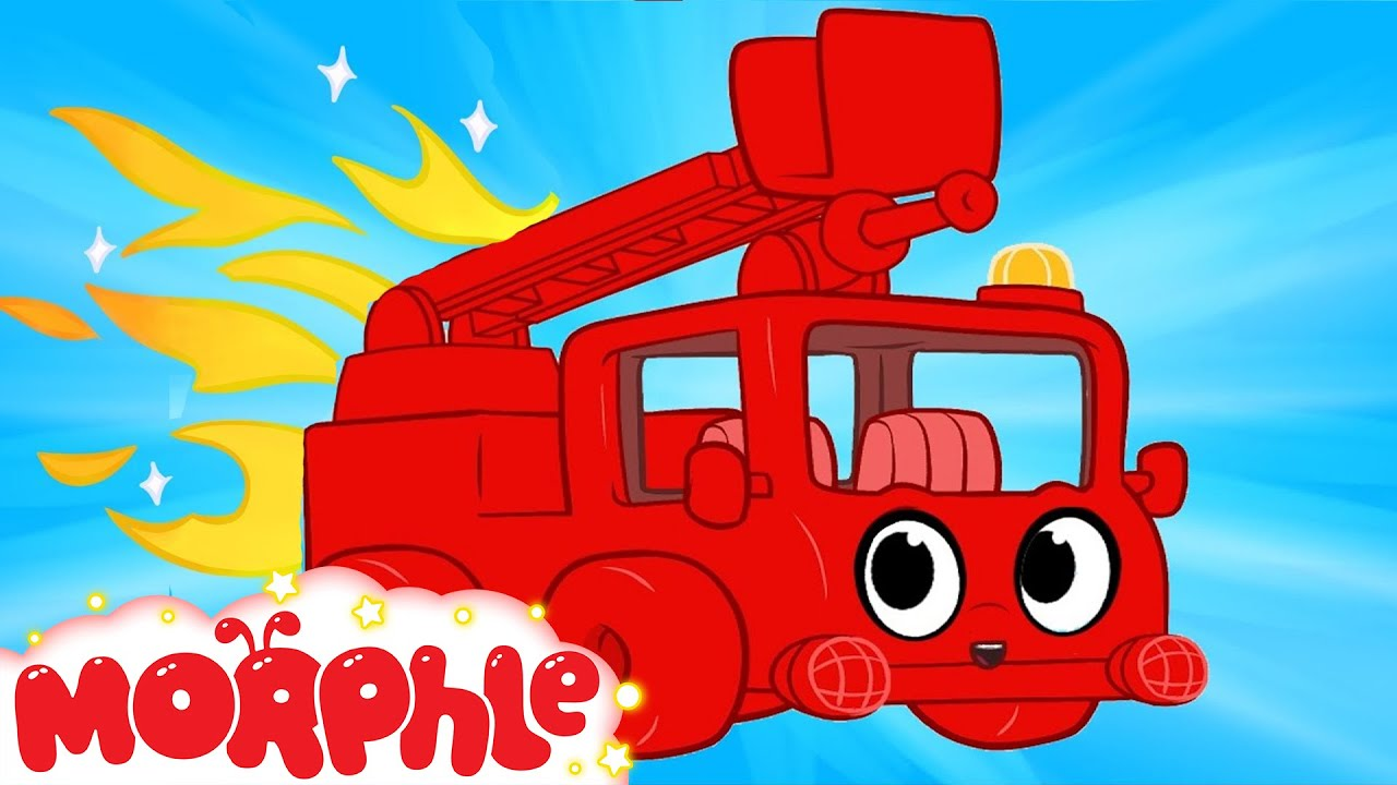 My Red Fire truck - My Magic Pet Morphle