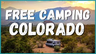 FREE Camping in C๐lorado & Beyond! Exactly How We Do It. | Newstates in the States