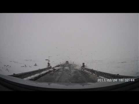 Iceland winter driving - Gale force winds - Jökulsárlón to Kirkjubæjarklaustur - Feb 24 2017