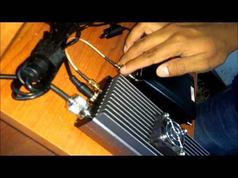 Transmisor FM Fmuser 30watts (vatios) Con Antena GP Info Electronicscolombia1@gmail.com