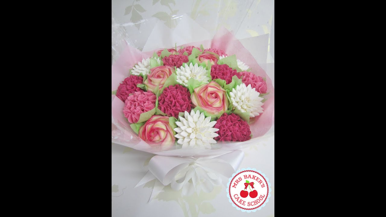 Learn How To Make Cupcake Bouquets - YouTube