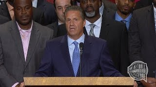 John Calipari's Basketball Hall of Fame Enshrinement Speech