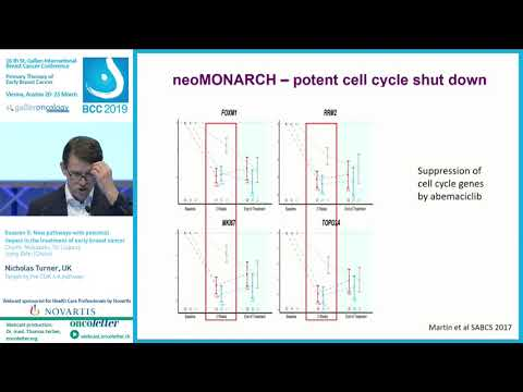 Session 5: Targeting The CDK 4‐6 Pathway (Nicholas Turner, UK)