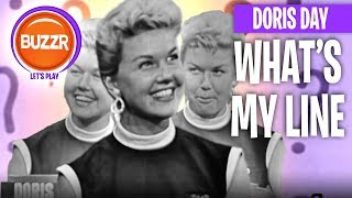 What's My Line? - Doris Day's FIRST Television Appearance in 1954! | BUZZR