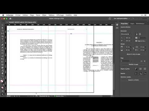 Importer AUTOMATIQUEMENT un PDF MULTIPAGES dans Indesign