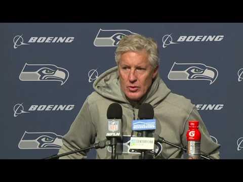Seahawks Head Coach Pete Carroll Postgame Press Conference vs Eagles