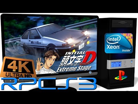 RPCS3 0 0 5 [PS3] - Initial D Extreme Stage [4K-Gameplay] New RSX