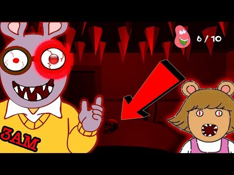 DONT PLAY ARTHUR'S NIGHTMARE HORROR GAME AT 3AM | NIGHTMARE D.W FOLLOWED ME