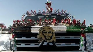 Dubai: Amazing 'decorated' car parade 2013