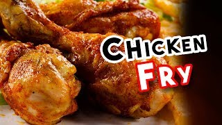 Chicken Leg Fry | Baked  Chicken Fry Recipe Indian | Delicious Chicken Recipe |  delicious food