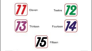 Curso de inglês para crianças - Aula 11 - Numbers part 2