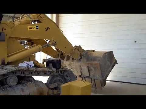 Caterpillar 963 Repair - YouTube