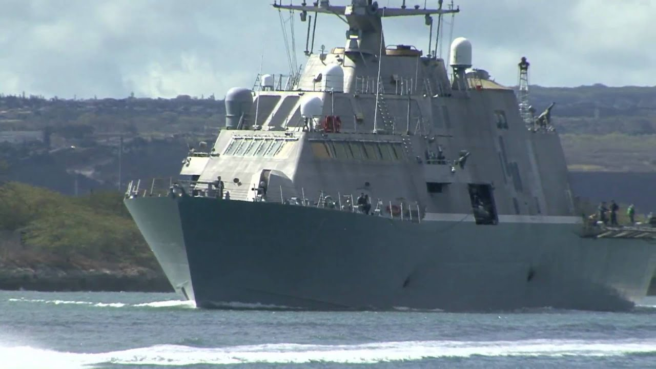 Uss freedom lcs 1 departs pearl harbor during rimpac 2010 youtube - Uss freedom lcs 1 photos ...