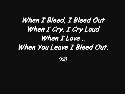 Jason Derulo - Bleed Out - Lyrics