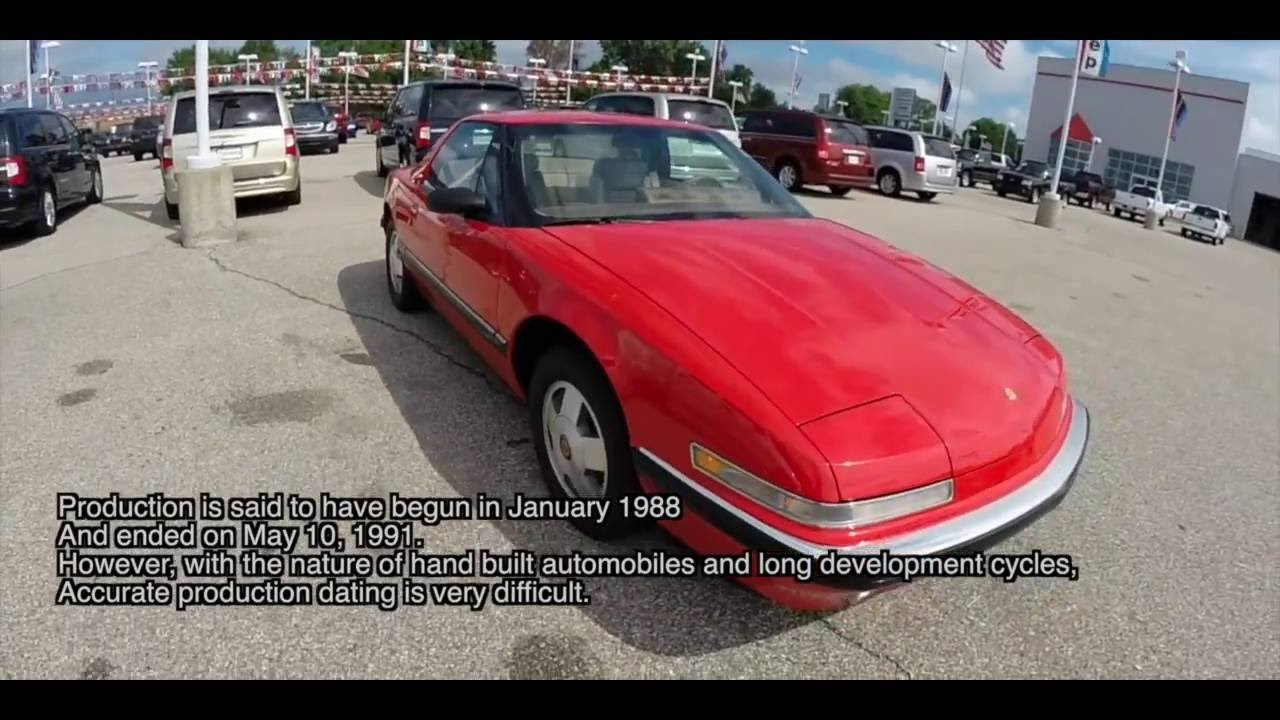 1988 buick reatta 2 seat business coupe