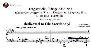 Franz Liszt - Hungarian Rhapsodies 1-10 (1846-53) [Roberto Szidon]