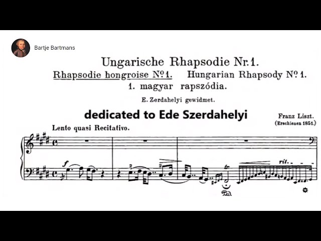 Nos 1 and 2 Hungarian Rhapsodies