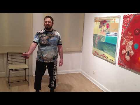 Konstantinos Papacharalampos - Performing '3' at Lola Nikolaou Gallery 20 12 2018 - part 2/2