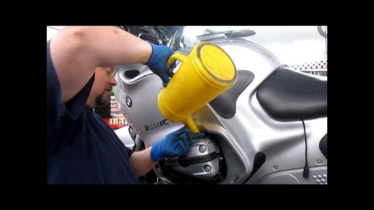 bmw service - oil & filter change - youtube