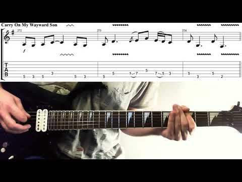 Carry On Wayward Son Kansas Chords And Riffs How To Play On Guitar