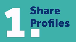 Activity #1:  Share Profiles