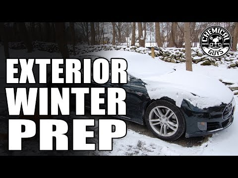How To Protect Your Car From Harsh Winter Weather - Chemical Guys Car Care