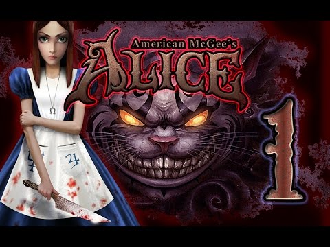American McGee's Alice Walkthrough Part 1 (PS3, X360, PC)  [HD]