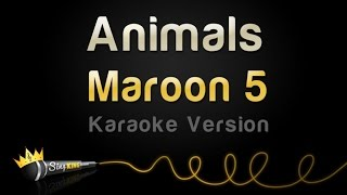 Maroon 5 Animals Karaoke Version.mp3