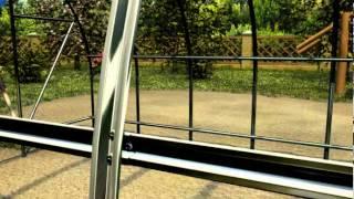 Видеоинструкция по сборке теплицы Киновская(Посмотрев этт видеоролик, вы сможете самостоятельно осуществить монтаж одной из самых популярных теплиц..., 2014-02-25T05:44:49.000Z)