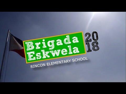 Brigada Eskwela 2018 Rincon Elementary School Entry