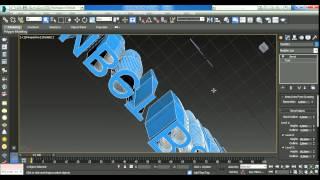 Первые шаги в 3D max, интерфейс, моделирование бокала  Урок - 2