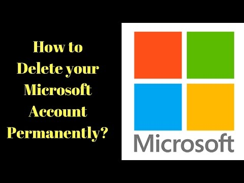 How To Delete Your Microsoft Account