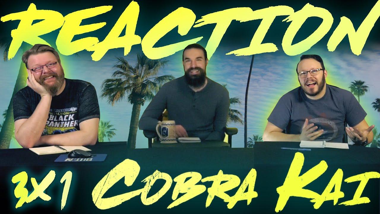 "Download Cobra Kai 3x1 REACTION!! ""Aftermath"""