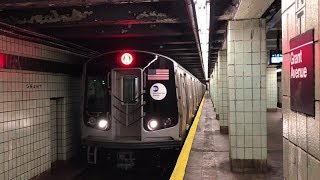NYC Subway HD 60fps: Out With The Old, In With The New At Grant Avenue (8/13/19)