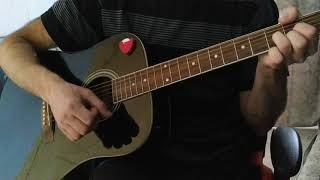 Исчезли солнечные дни на гитаре Cover
