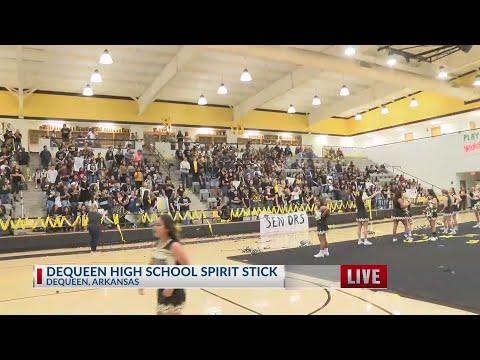Kevin's Tractor NBC 6 Spirit Stick Winner: DeQueen High School
