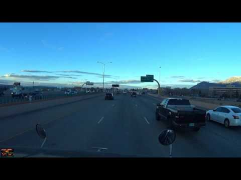 Driving around Albuquerque New Mexico