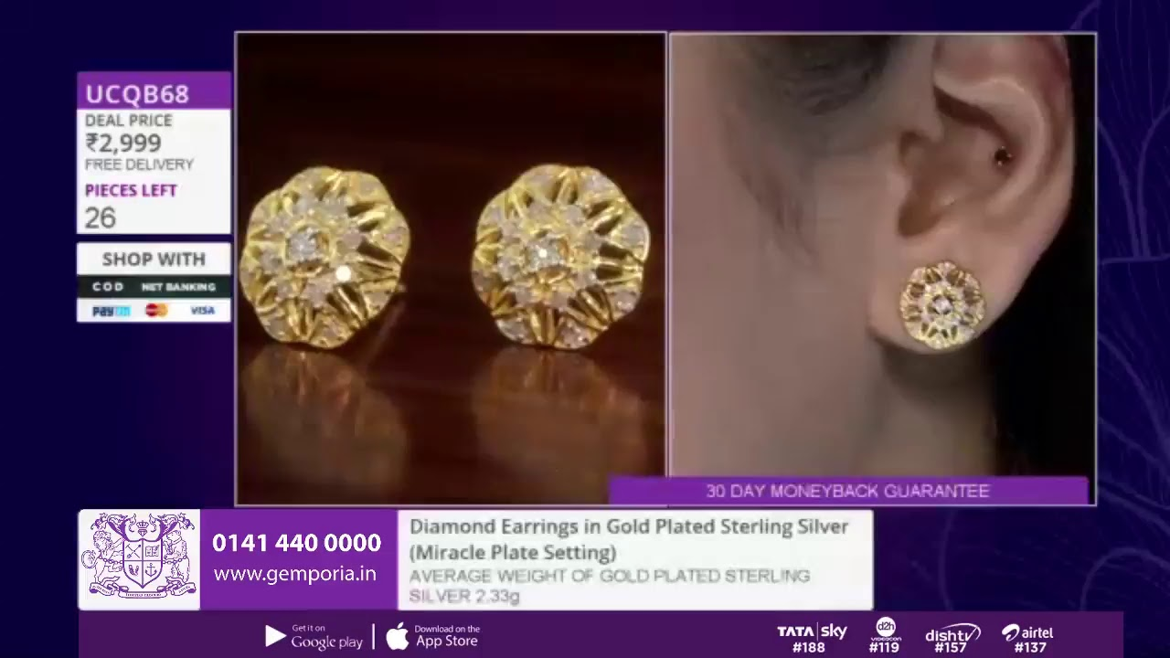 3a851413d Shop Affordable Jewellery LIVE With Gemporia TV - 29th November - YouTube
