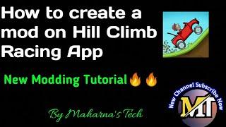 हिल क्लाइंब रेसिंग पर एक मॉड कैसे बनाएं // केवल शिक्षा के लिए // ट्यूटोरियल नंबर 6 screenshot 2
