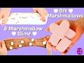EDIBLE SLIME / MARSHMALLOW SLIME + DIY MARSHMALLOWS!