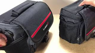 Black Panasonic DMW-PGH68X System Bag for Camera