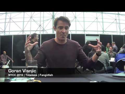 'Timeless' NYCC '16: Goran Visnjic