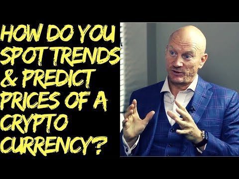 How do you spot trends and predict future prices of a CryptoCurrency?
