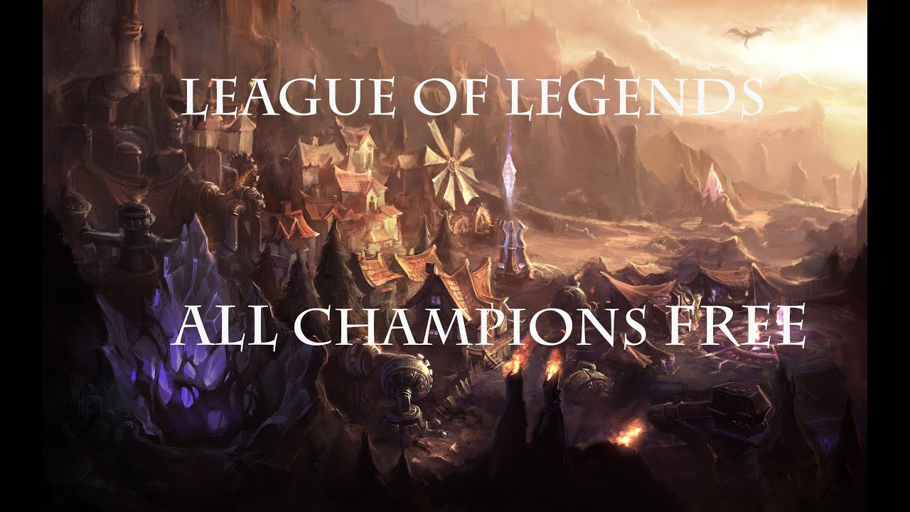 Free To Play Champions League Of Legends